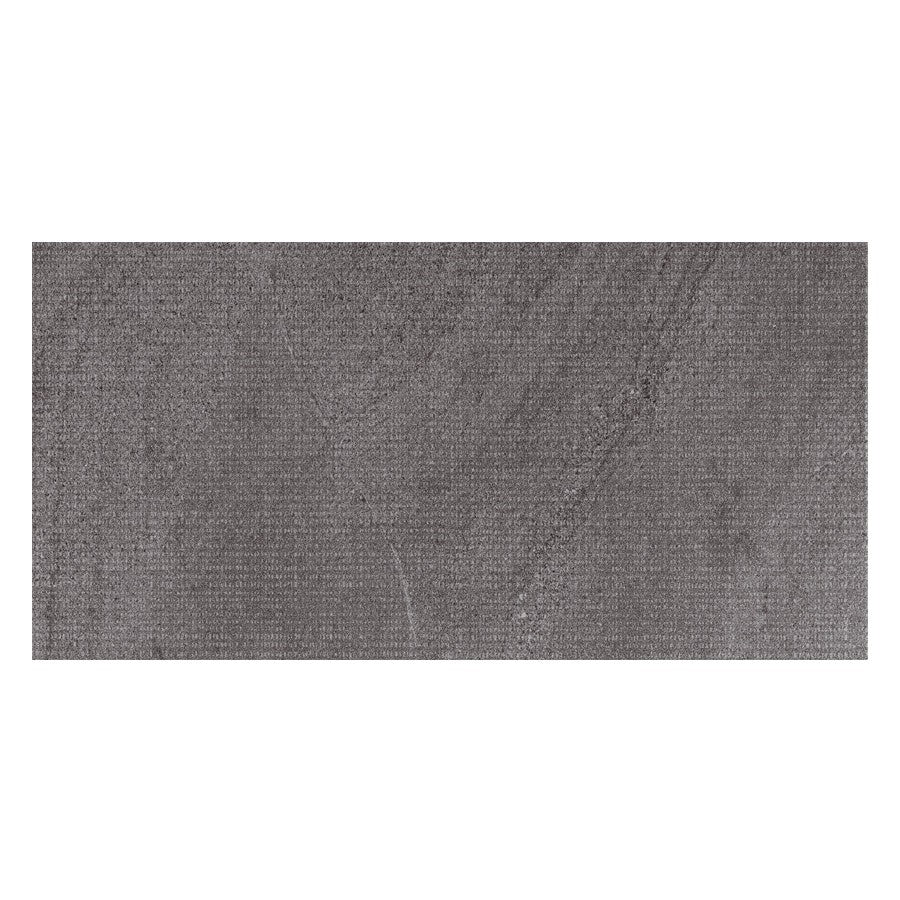 "Nextone 12"" x 24"" Porcelain Dot Pattern Tiles - Matte Dark"