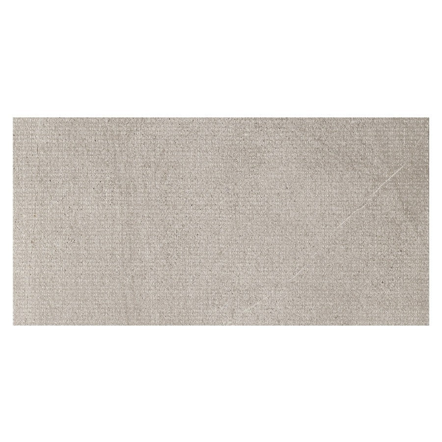 "Nextone 12"" x 24"" Porcelain Dot Pattern Tiles - Matte Grey"