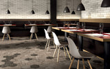 White 3 x 12- Bricklane Series Glazed Porcelain Tiles