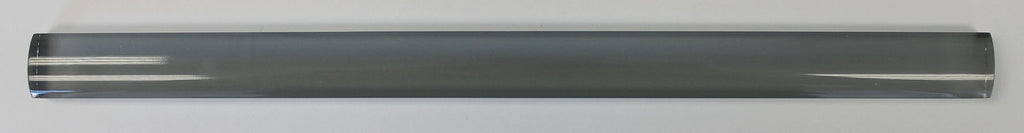 Pebble Gray Glass Pencil Trim - Rocky Point Tile - Glass and Mosaic Tile Store
