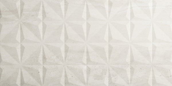"Reverso 12"" x 24"" Porcelain Tiles - Diamond White"