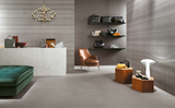 "Room Series 23.5"" x 23.5"" Porcelain Tiles - Pearl Check"