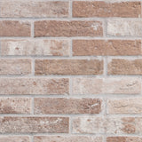 "Bristol 2.5"" x 10"" Porcelain Brick-Look Subway Tiles - Rust"