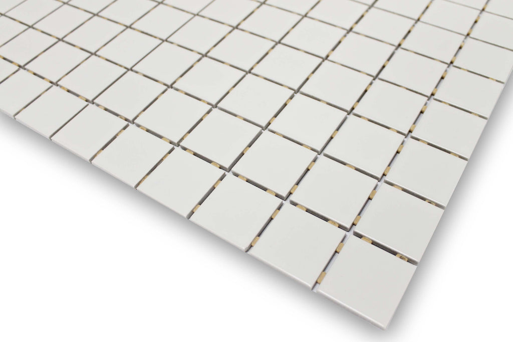 Sand Glazed Porcelain 2 x 2 Mosaic Tiles - 10 Square Feet - Rocky Point Tile - Glass and Mosaic Tile Store