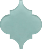 Seafoam Arabesque Glass Mosaic Tiles - Rocky Point Tile - Glass and Mosaic Tile Store
