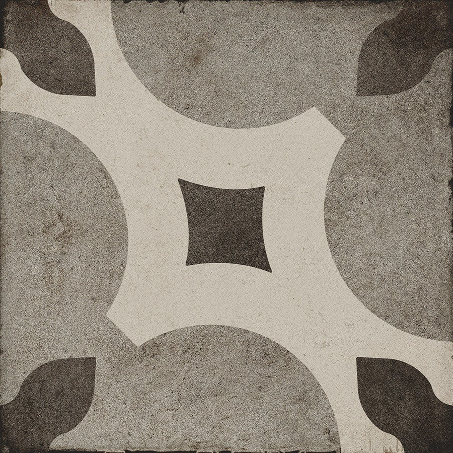 "Ottocento 8"" x 8"" Encaustic Look Tiles - Talco 6 Decor"