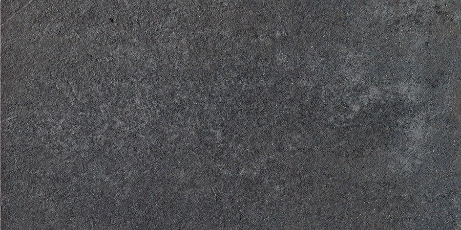 "Word Up 12"" x 24"" Matte Concrete Look Porcelain Tiles - Grey"