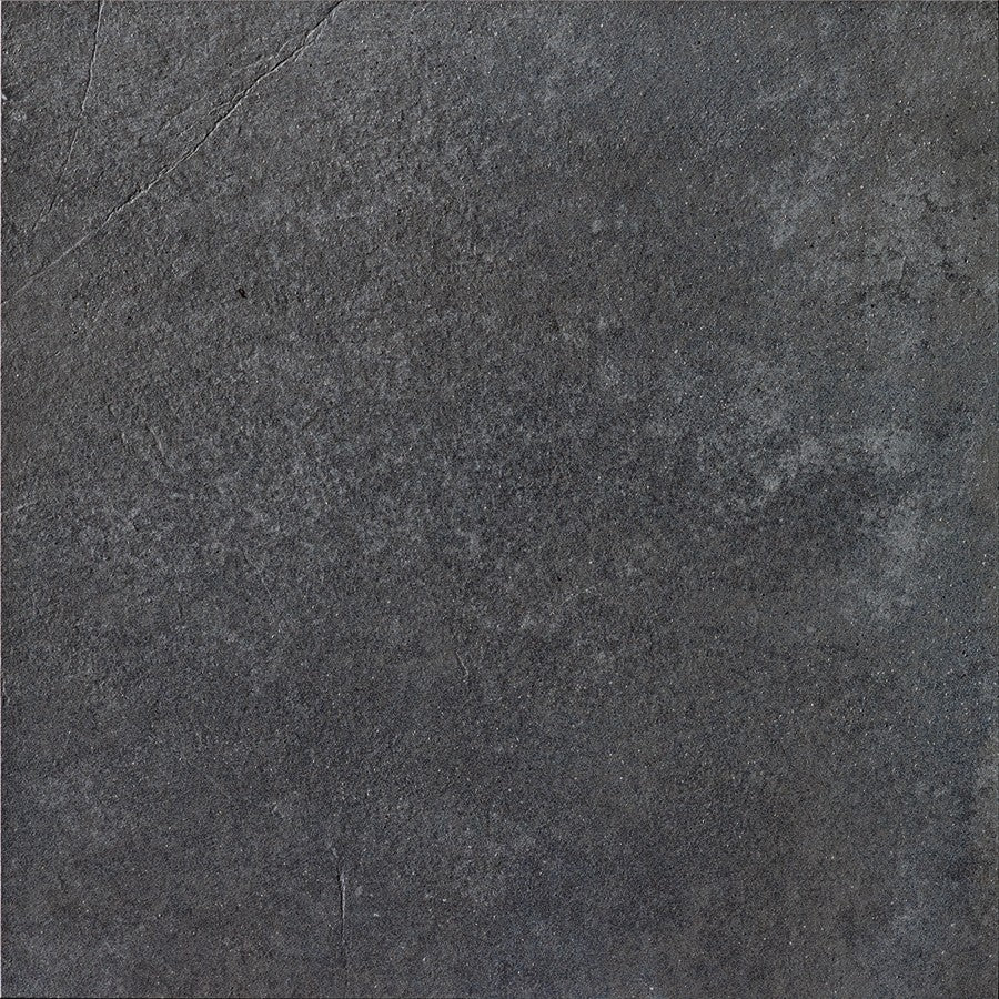 "Word Up 24"" x 24"" Matte Concrete Look Porcelain Tiles - Grey"