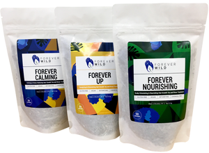 Forever Value Pack 3x - Energizing, Calming & Nourishing Hair Growth Tea and Rinses