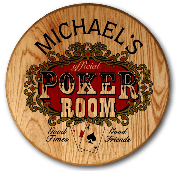 Poker Room - Color Barrel Head