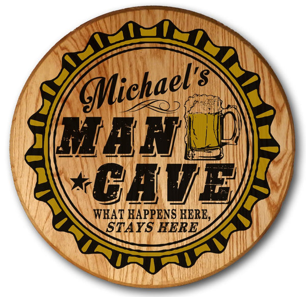 Man Cave - Color Barrel Head