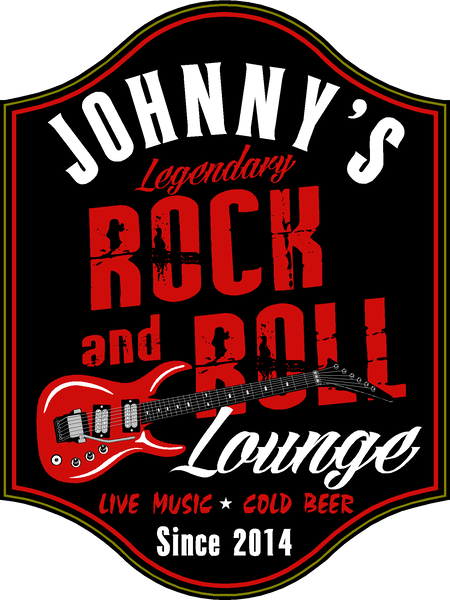 Rock & Roll Lounge - Sign