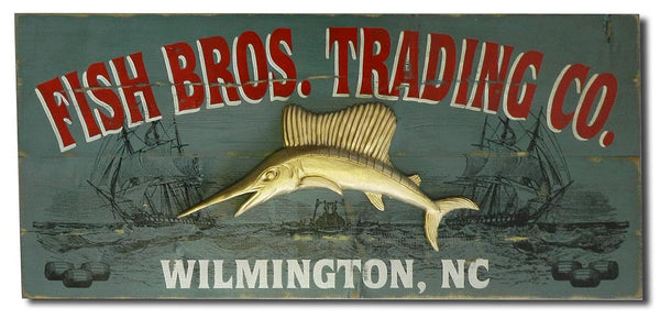 Trading Co. - Vintage Plank Signs