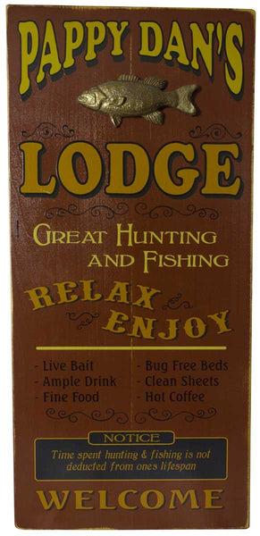 Lodge - Vintage Plank Signs
