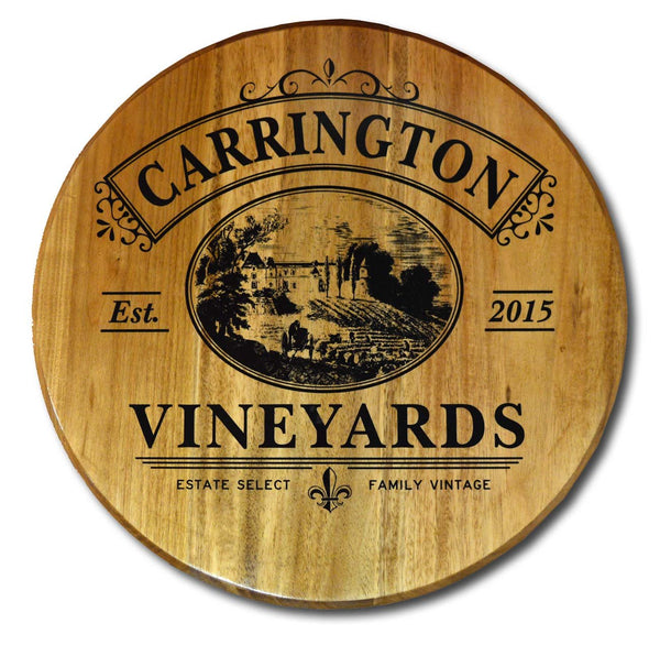 Vineyards - Barrel Head