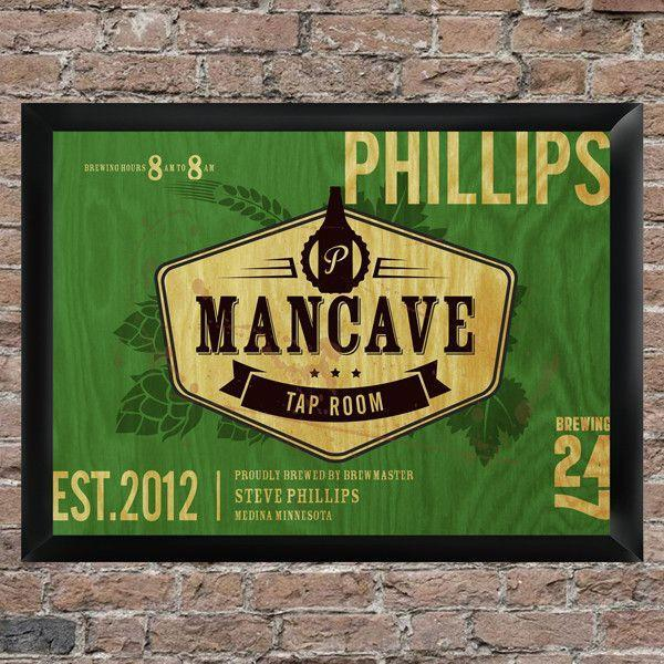 NEW! Tap Room Mancave Pub Sign