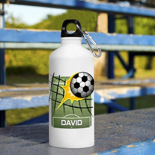 Personalized Kid's Sports Water Bottles - Soccer