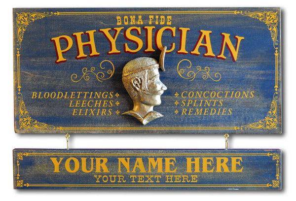 Physician - Occupational Plank Signs