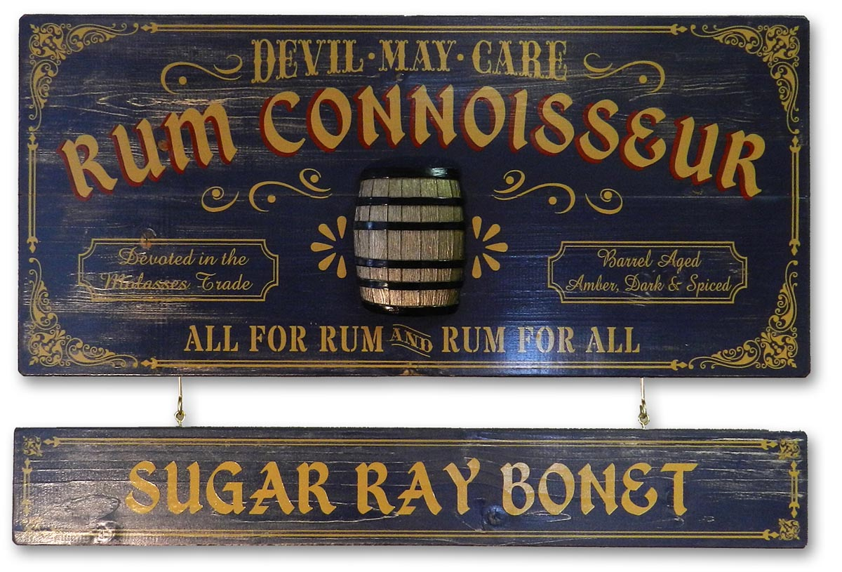 Rum Connoisseur - Occupational Plank Signs