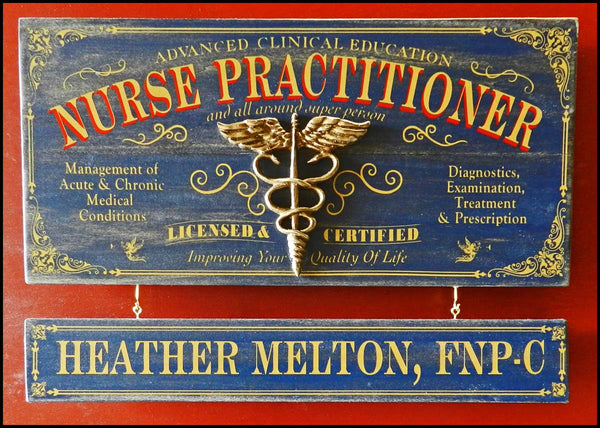 Nurse Practitioner - Occupational Plank Signs