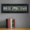Collegiate Framed Architecture Print in Wood Frame