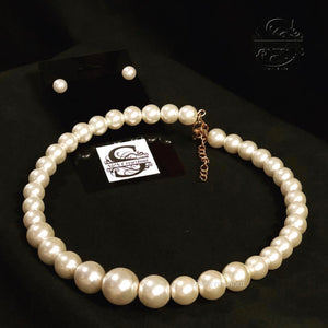 Classic White Pearls
