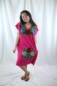 Pink/Multi Frida Dress