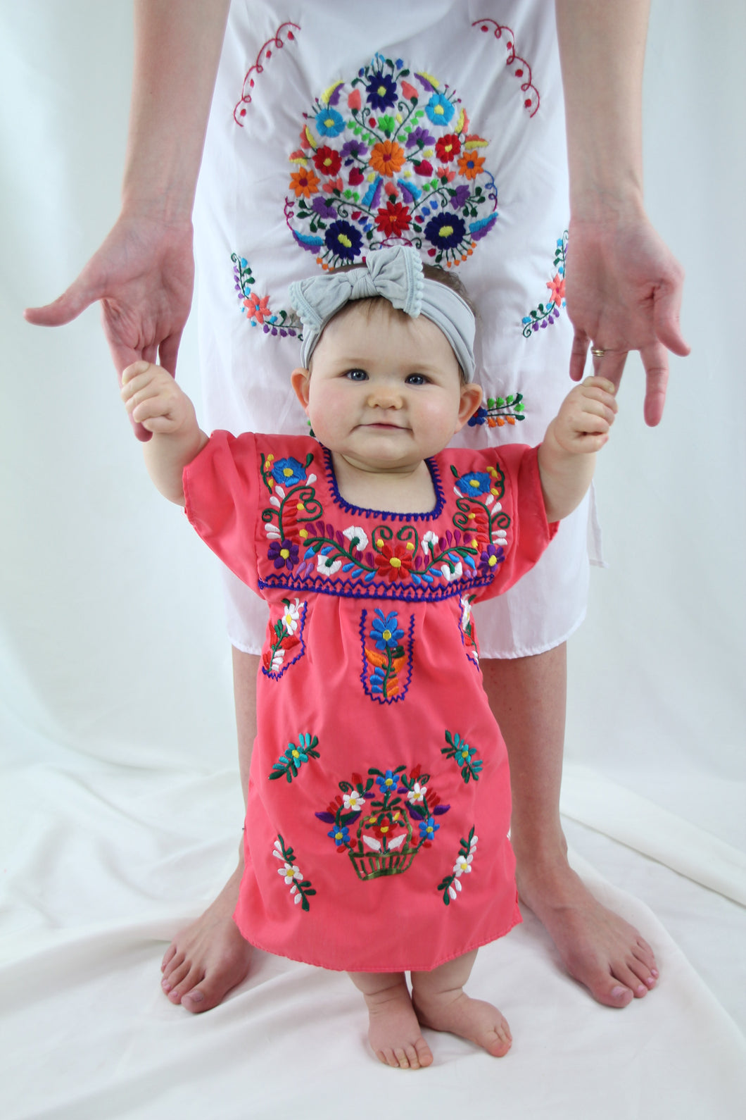 Pink/Multi Kids Dress
