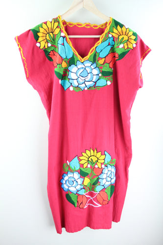 Red/Multi Frida Dress