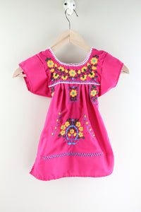 Pink/Yellow Spring Baby Dress