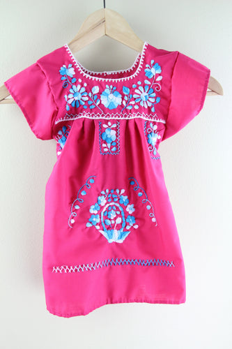 Pink/Blue Baby Dress