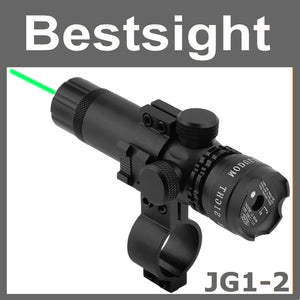 Tactical Rifle Laser Pointer Green Dot Laser Sight With Rail Mount