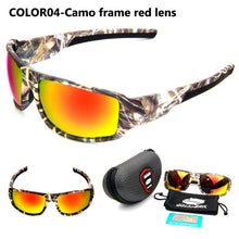 QUESHARK Polarized Camo Fishing Sunglasses