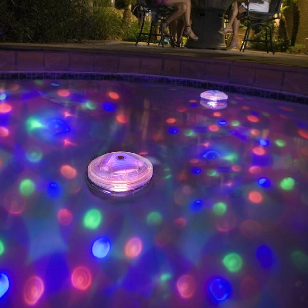 Underwater LED Disco AquaGlow Light Show for Pool