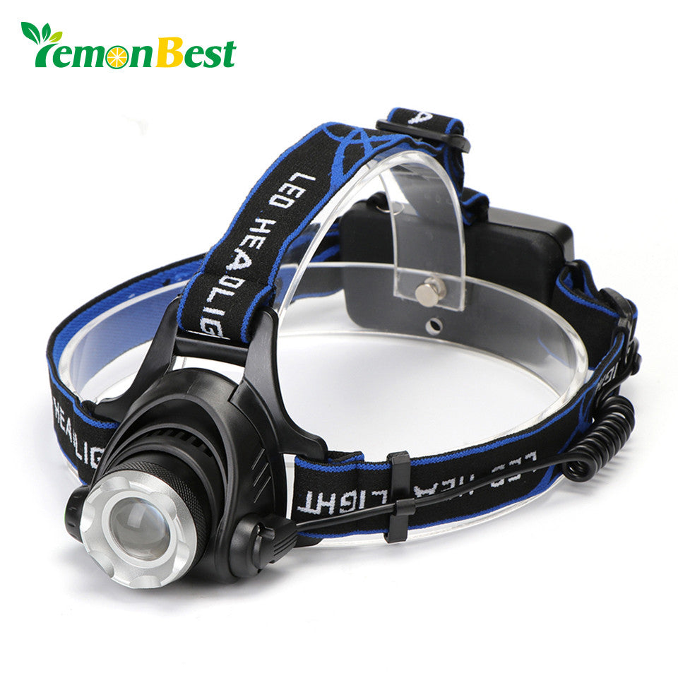 Rechargeable Headlamp w/ 3 Light Modes