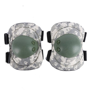 Pair Elbow Pads + Pair Knee Pads Paintball/Airsoft Combat