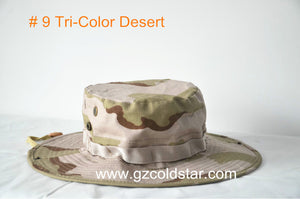 11colors Camouflage Military Cotton Wide Brim Bucket Hat - Outdoor Outfitters Pro