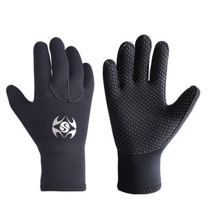 011016 3mm Neoprene Diving Gloves for Spearfishing - Outdoor Outfitters Pro