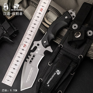 HX OUTDOORS Reaper High Quality Hunting Survival Tactical Knife 440 blade