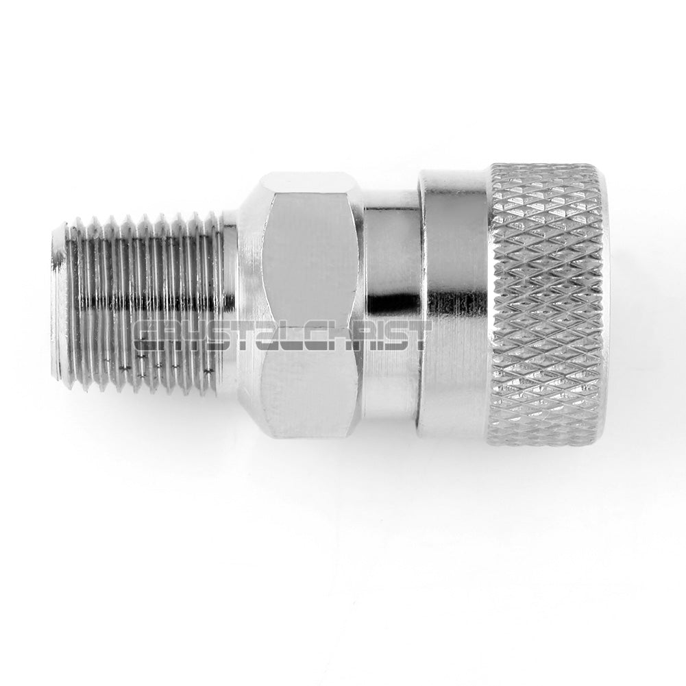 New Paintball CO2 HPA Compressed Air Fill Adapter Female Quick Disconnect 1/8NPT - Outdoor Outfitters Pro