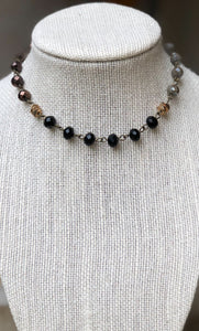 BRONZE MIX CHOKER