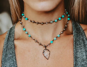 MIXED TURQUOISE SET
