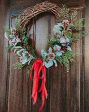 Load image into Gallery viewer, WINTER WREATH