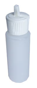 HDPE 60 ml/2oz Natural Cylinder/bottle Lock top