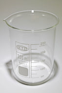 250 ml Glass Borosilicate Graduated Beaker