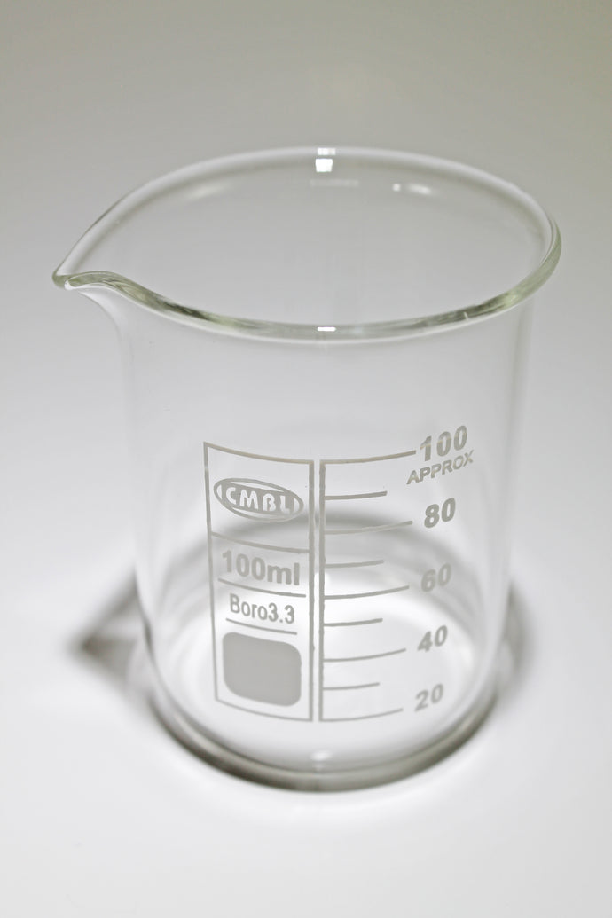 100 ml Glass Borosilicate Graduated Beaker