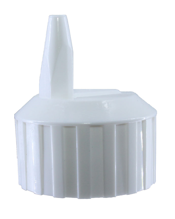 Lock top spouted cap