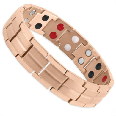 Ardross Rose Gold Titanium Energy Bracelet