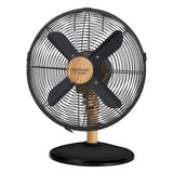 Ventilateur Loft Black Wood & Métal