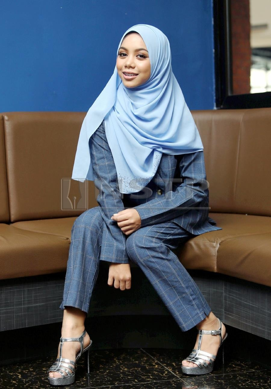 Sarah Suhairi aims to be Malaysia's first hijab-wearing rapper